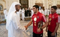 Photo: Abu Dhabi CP receives delegation of Mohamed bin Zayed Jiu-Jitsu Programme