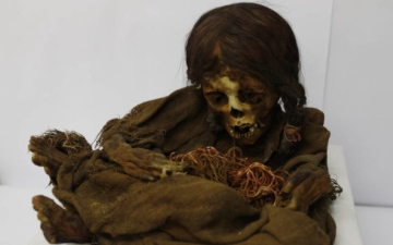Photo: 500-year-old mummy of Incan girl returns to Bolivia