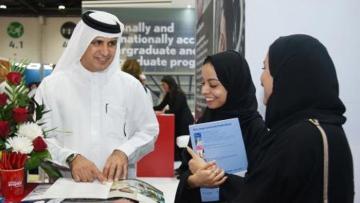 Photo: International students at Emirates Aviation University offered large discounts, free return flights