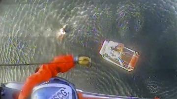 Photo: Pilot says plane crash into California ocean was no stunt