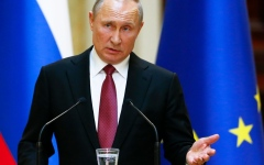 Photo: Putin says US missile test raises new threats to Russia