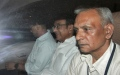 Photo: India's ex-finance minister arrested at home in dramatic raid
