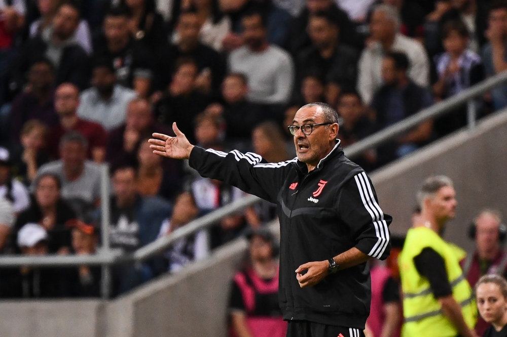 Photo: New-look Juventus begin Serie A defence without ailing Sarri