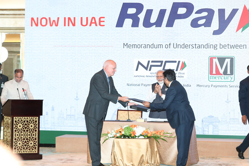 175,000 merchant locations of 21 businesses to accept India's RuPay card in UAE