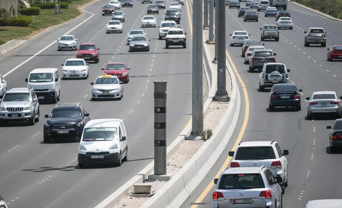 34% decrease in UAE traffic fatalities in last 5 years