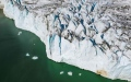Photo: High above Greenland glaciers, NASA looks into melting ocean ice