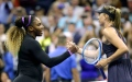 Photo: Serena routs Sharapova in US Open start, 'rusty' Federer wins