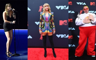 Photo: 2019 MTV Video Music Awards: Taylor Swift, Miley Cyrus...
