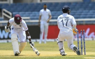 Photo: India beat West Indies by 257 runs, win Test series 2-0