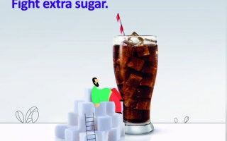 """Photo: Ministry of Health launches awareness campaign """"Beat the Habit Fight Extra Sugar"""""""