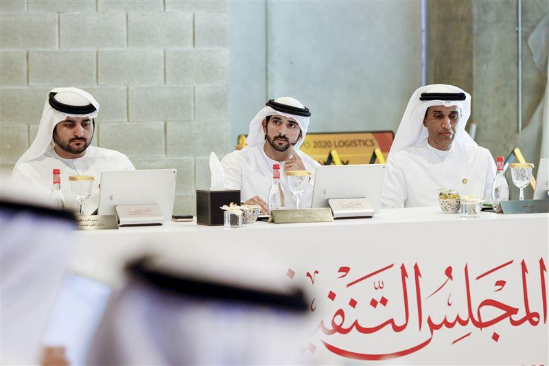 Hamdan bin Mohammed chairs Executive Council meeting at Expo 2020 headquarters