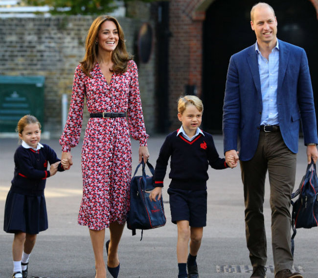 Princess Charlotte starts school - Emirates24|7