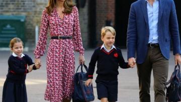 Photo: Princess Charlotte starts school