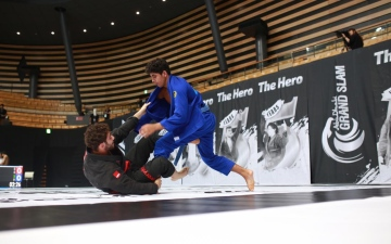 Photo: UAE youth jiu-jitsu teams travel to Romania