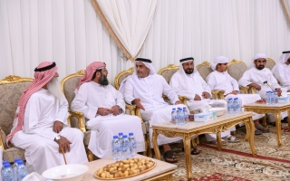 Photo: Saif bin Zayed condoles martyrs' families
