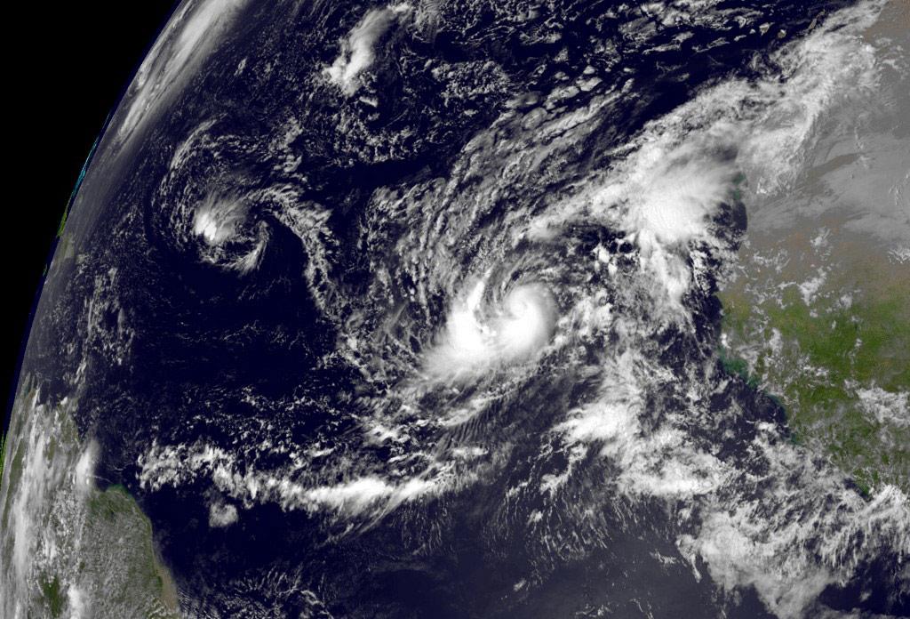 Photo: Tropical Storm Humberto lashes Bahamas