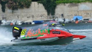 Photo: Team Abu Dhabi's Rashed Al Qemzi clinches UIM F2 World Championship