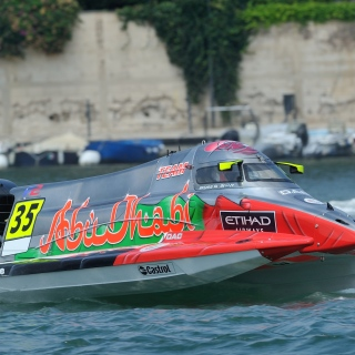 Photo: Team Abu Dhabi's Rashed Al Qemzi clinches UIM F2 World Championship