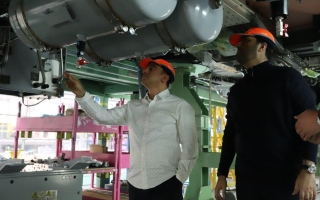 Photo: RTA inspects manufacturing of train equipment for Route 2020 in Poland