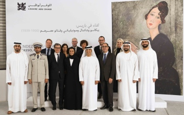 Photo: Exhibition of 20th century modern masterpieces opens at Louvre Abu Dhabi