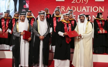 Photo: Ahmed bin Saeed honours 6th batch from Mohammed bin Rashid School of Government