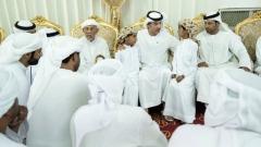 Photo: Hazza bin Zayed condoles martyrs' families in Fujairah