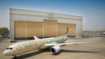 Photo: Etihad Airways, ADNOC celebrating 89th Saudi National Day