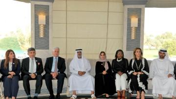Photo: Nahyan bin Mubarak honours BUNYAN Knights