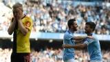 Photo: Guardiola salutes 'ruthless' Man City after eight-goal blitz