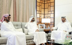 Photo: Mohammed bin Rashid, Mohamed bin Zayed discuss Emiratis' affairs