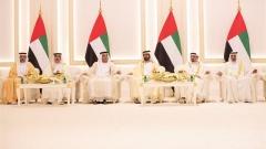Photo: Mohammed bin Rashid, Rulers of the Emirates attend Al Nahyan and Al Maktoum family wedding