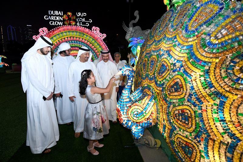 Dubai Garden Glow Opens To Spread The Cheer For Fifth Season News Emirates Emirates24 7