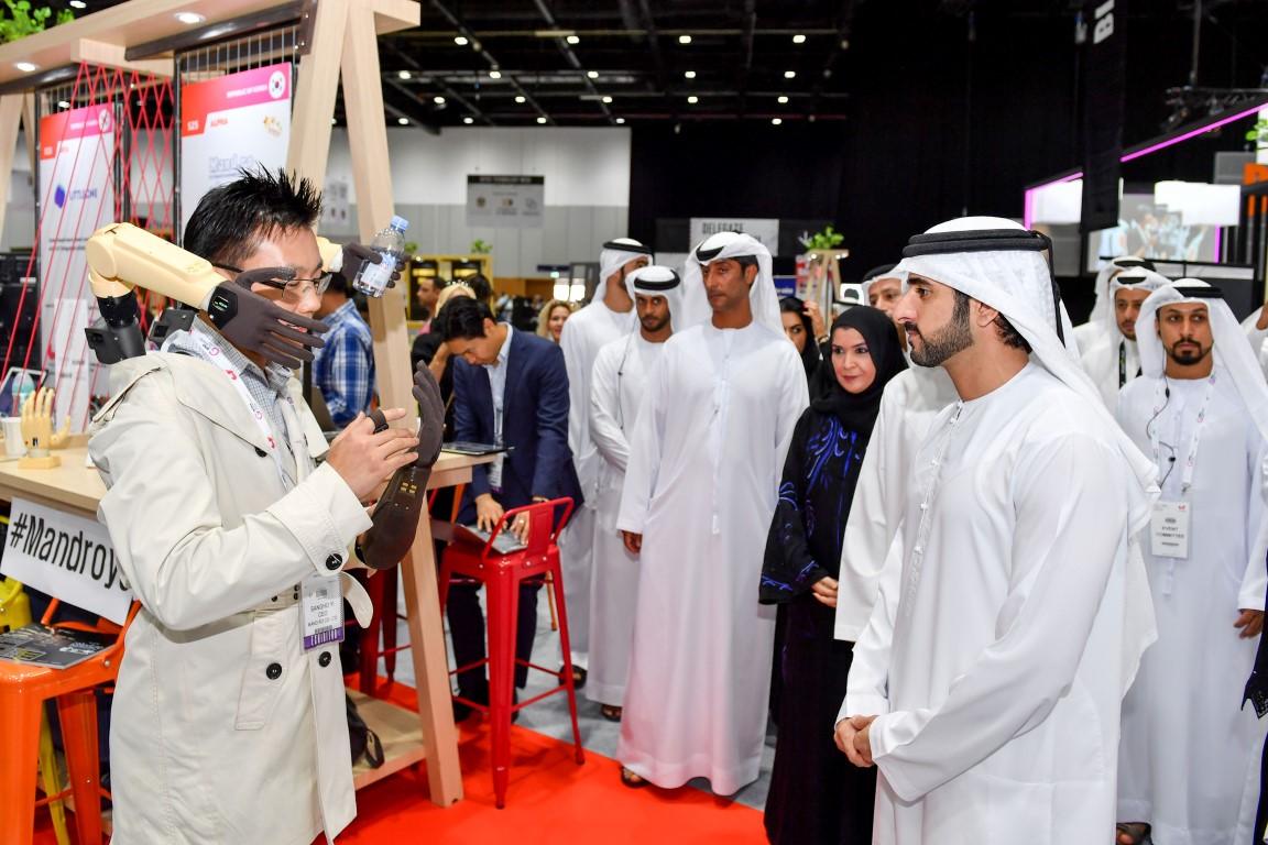 Hamdan bin Mohammed opens GITEX Technology Week 2019
