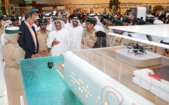 Photo: Saif bin Zayed unveils first floating smart police station