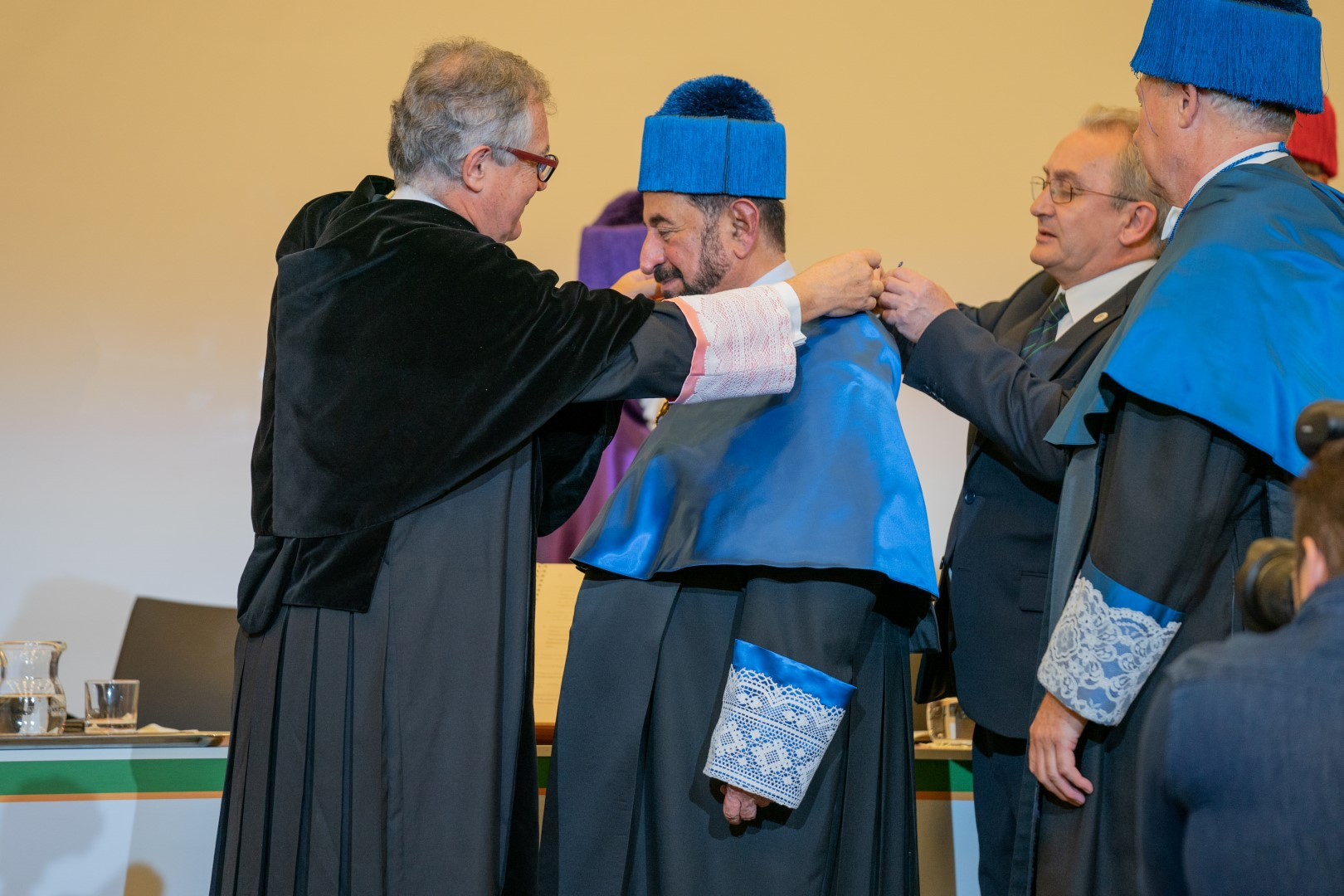 Photo: Honorary doctorate for Sharjah Ruler's cultural efforts
