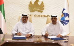 Photo: Dubai Customs inks partnership with Hawkamah to promote corporate governance