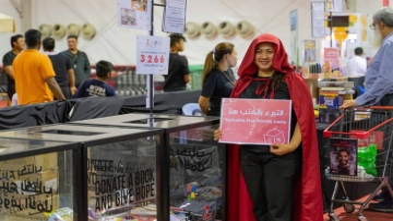Photo: Over 3,000 books donated for disadvantaged children