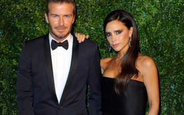 Photo: Victoria Beckham is 'lucky' to be married to David Beckham