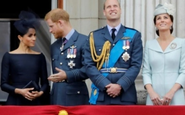Photo: Prince Harry admits he and Prince William are 'on different paths'