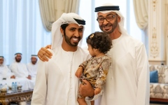 Photo: Mohamed bin Zayed receives ICA team