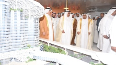 Photo: Hamdan bin Rashid inaugurates 21st WETEX, 4th Dubai Solar Show