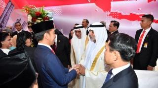 Photo: Nahyan bin Mubarak attends inauguration of Indonesian President in Jakarta