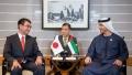 Photo: Hazza bin Zayed meets Japanese Defence Minister