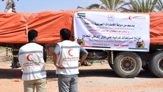 Photo: ERC delivers urgent food assistance to Shabwa, Yemen
