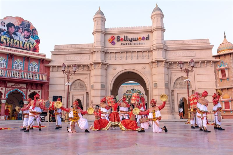 Photo: Celebrate a spectacular Diwali at BOLLYWOOD PARKS™ Dubai