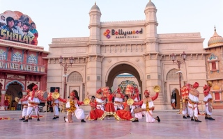 Photo: Celebrate a spectacular Diwali at BOLLYWOOD PARKS™ Dubai