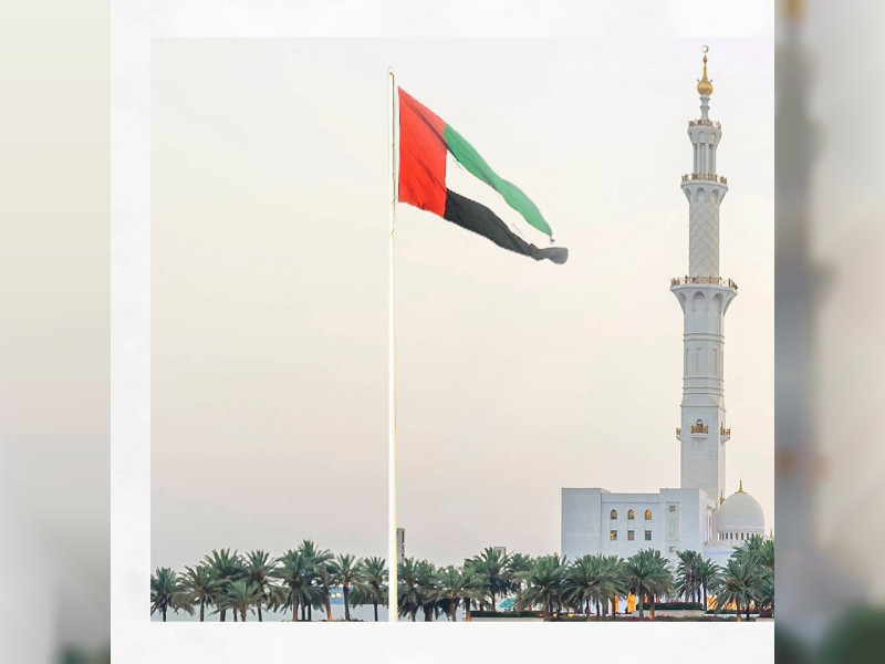 Over 14,000 participate in UAE Flag Day celebrations at Sheikh Zayed Grand Mosque