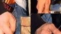 Photo: See… Shah Rukh's burnt hand!