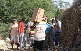 Photo: UAE provides urgent food aid, medicines to families in Al Mocha, Yemen
