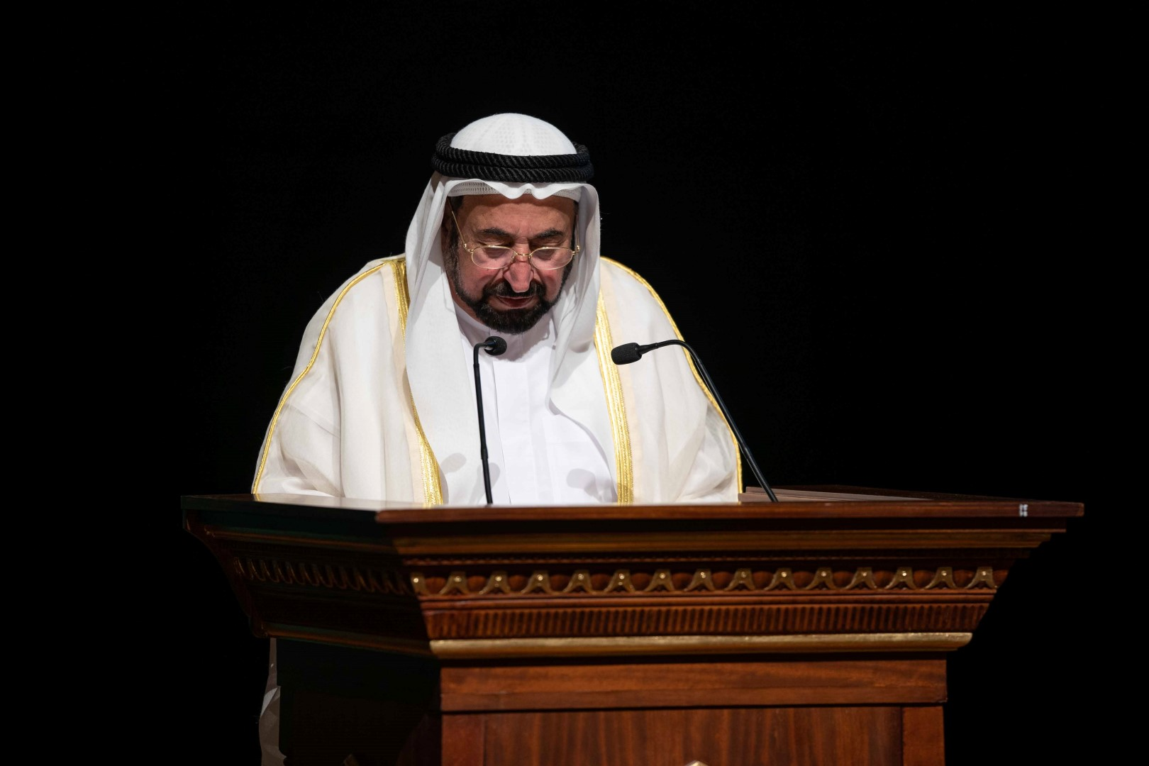 Photo: Sharjah Ruler inaugurates Rights of Future Generations sessions